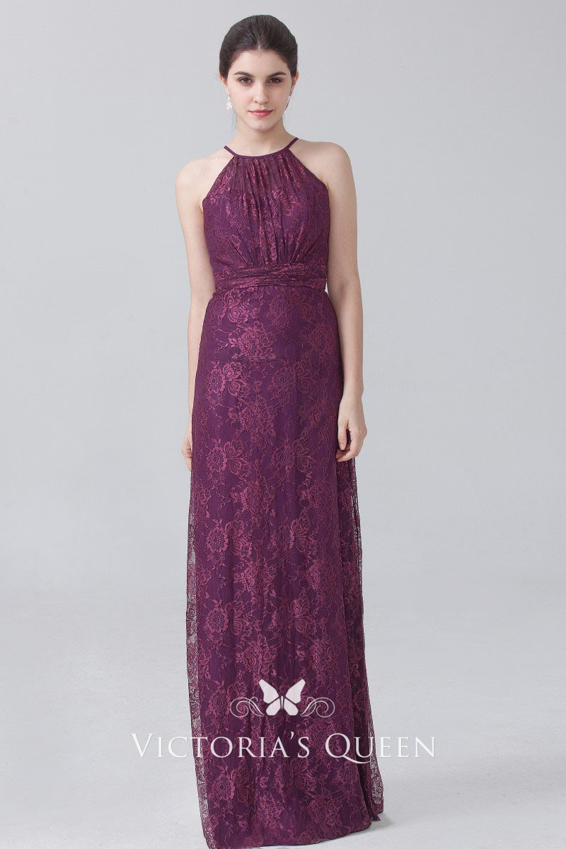 Floor Length Column Dress