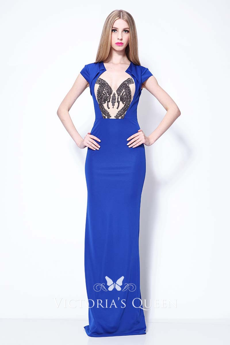 Black and blue prom dresses new photo