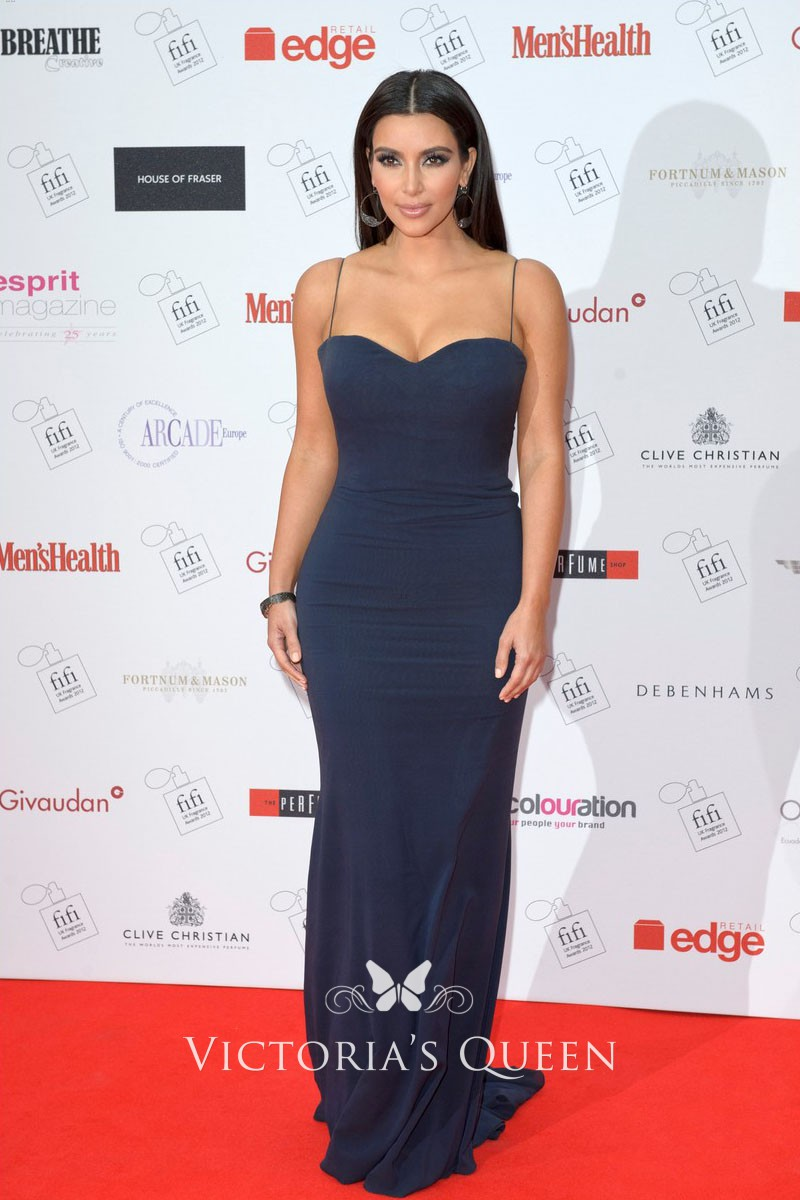 Kim Kardashian Floor Length Dresses