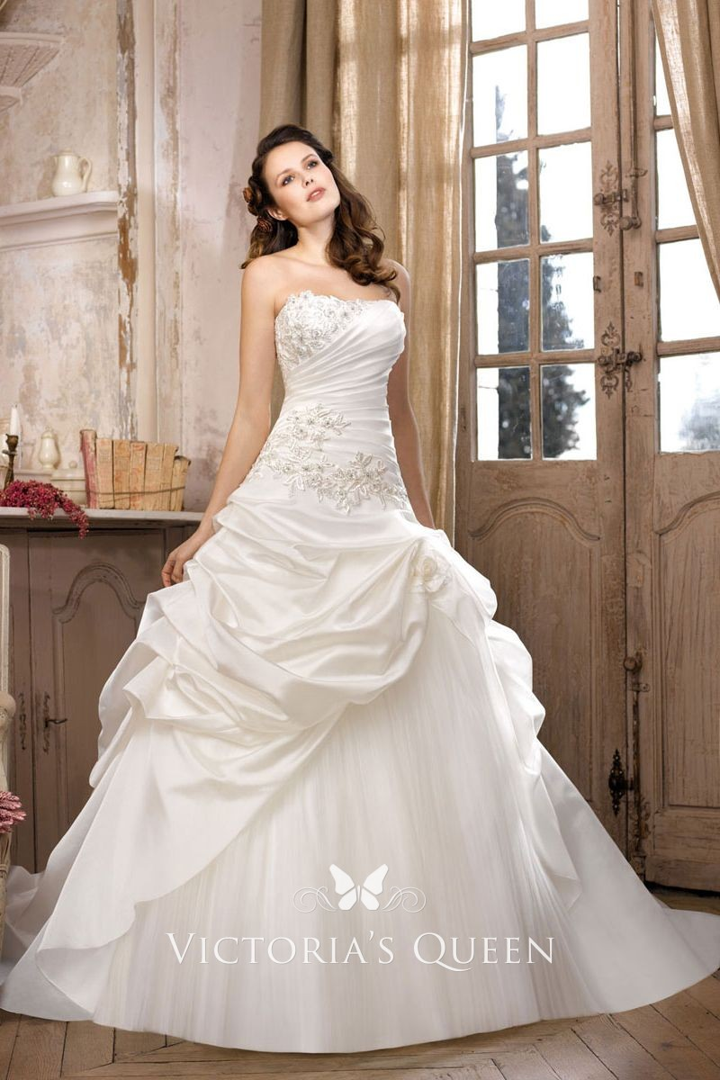 Strapless Lace Mermaid Wedding Dress With Ruched Organza Sweetheart Neckline The Back Can Also Be Made Up Corset No Extra Charge