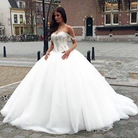 princess ball gown wedding dresses  bridal gowns