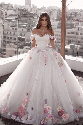 Princess Ball Gown Wedding Dresses Bridal Gowns Collection Vq